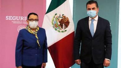 Photo of Alcalde electo de Tequisquiapan se reunió con Rosa Icela Rodríguez