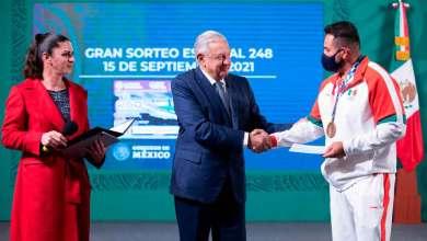 Photo of Gobierno Federal entregó estímulos a atletas de Juegos Olímpicos de Tokio 2020