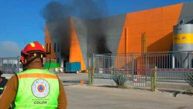 Photo of Sofocan incendio en Parque Industrial PIA de Colón