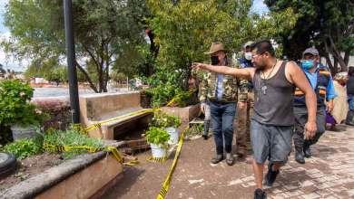 Photo of Enrique Vega recorre y supervisa zonas afectadas por las lluvias
