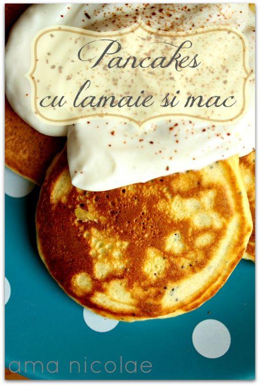 pancakes cu lamaie si mac 1