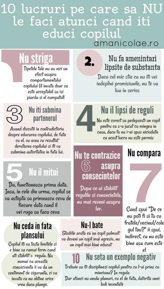 10 lucruri pe care sa NU le faci