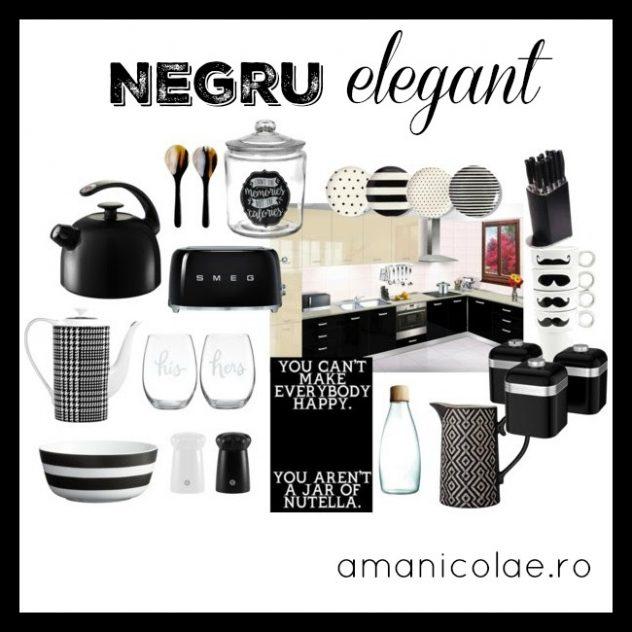 negru elegant