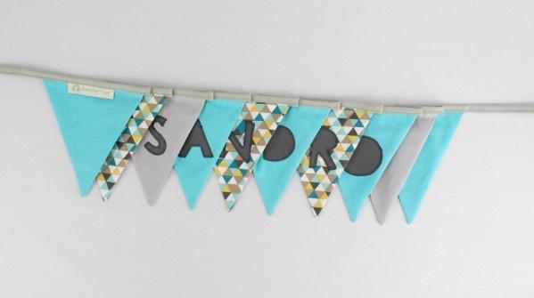banderole-decoration-salle-bapteme-personnalise-prenom-sandro-bleu-turquoise-gris-jaune-moutarde-deco-chambre-garcon