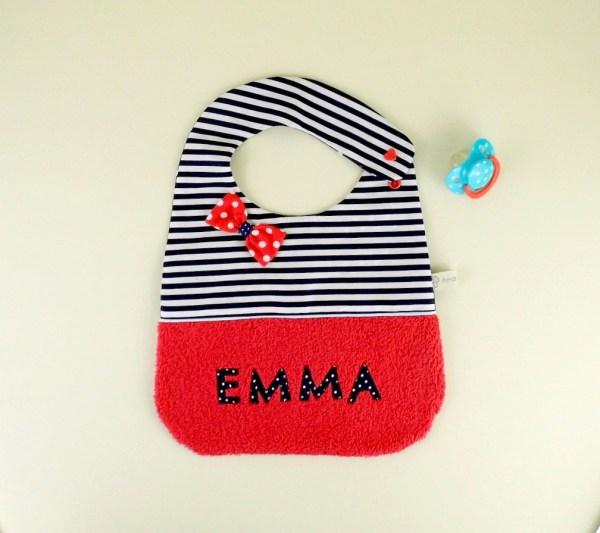 bavoir-emma-personnalise-style-marin-naissance-bapteme