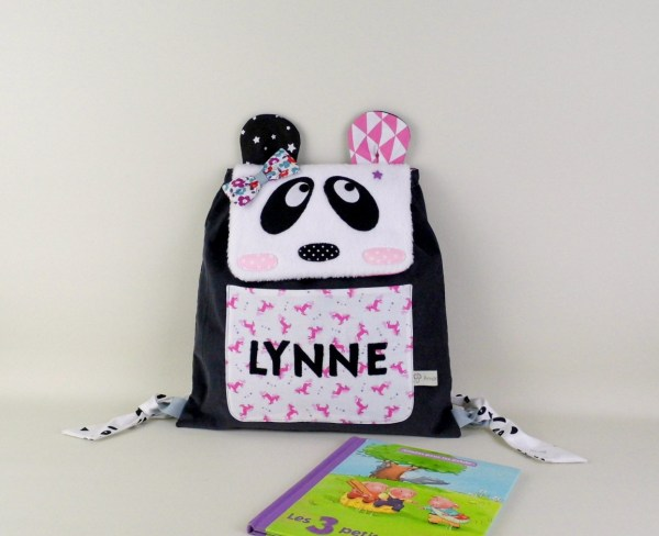 sac-dos-bebe-personnalise-prenom-lynne-sac-panda-personnalisable-ecole-maternelle