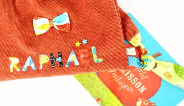 sac-enfant-prenom-raphael-renard-brode-personnalisable-ecole-maternelle-preschool-backpack-fox-boy-personalized-name