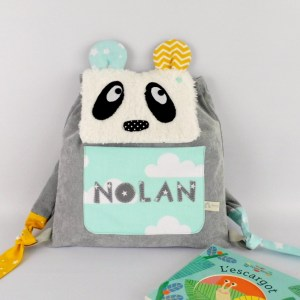 sac-a-dos-bebe-prenom-nolan-personnalisable-vert-menthe-jaune-moutarde-gris-ecole-maternelle-creche-preschool-backpack-personalized-name