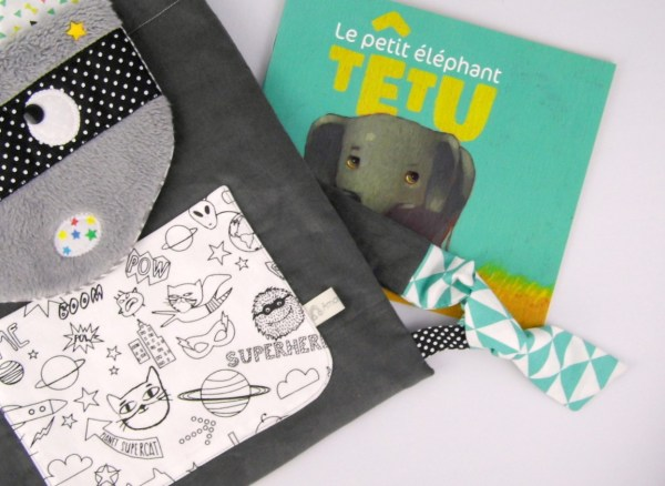 sac-a-dos-enfant-maternelle-raton-laveur-tissu-a-colorier-super-hero-chat-gris-noir-vert-jaune-moutarde-personnalise-prenom-toddler-backpack-personnalized-name-raccoon