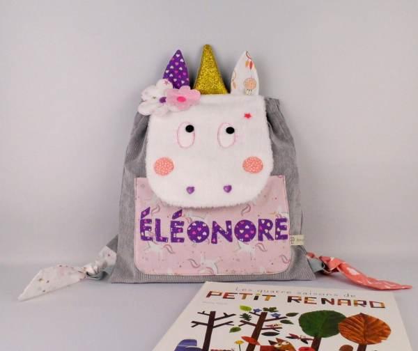 sac-fille-personnalise-prenom-eleonore-sac-licorne-cadeau-naissance-personnalise