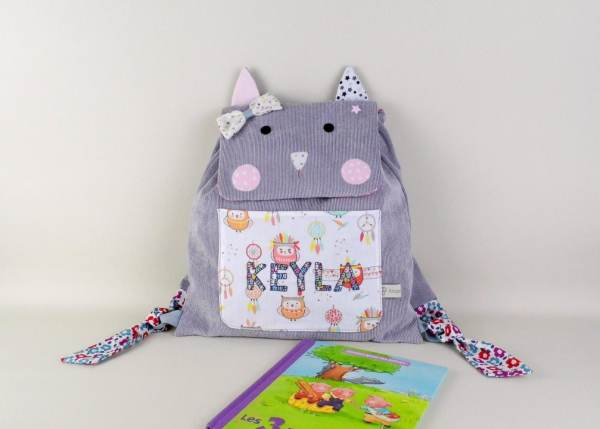 sac-a-dos-chat-personnalise-prenom-keyla-cartable-maternelle-personnalise-fille