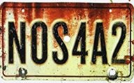 NOS4A2 liscence plate