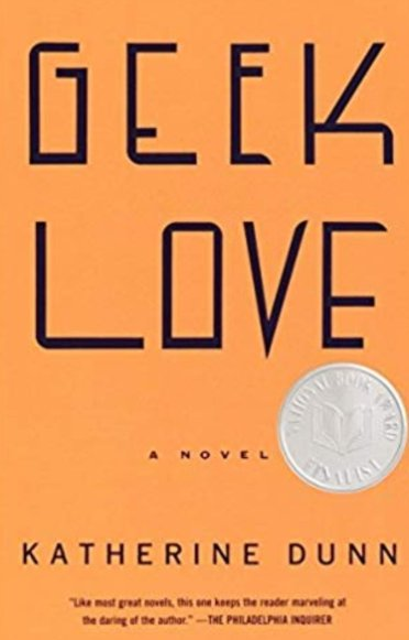 Geek Love Cover, Orange Background