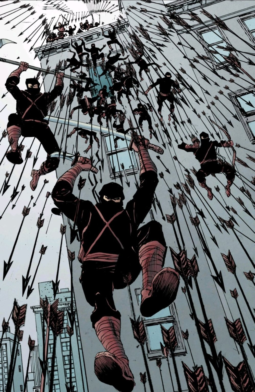 Just all of the ninjas.