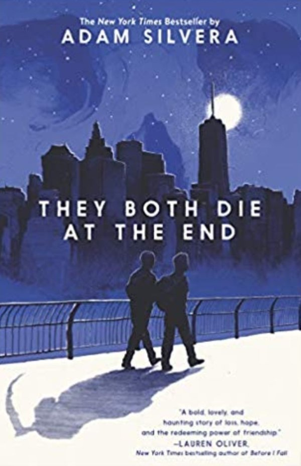 they both die at the end adam silvera