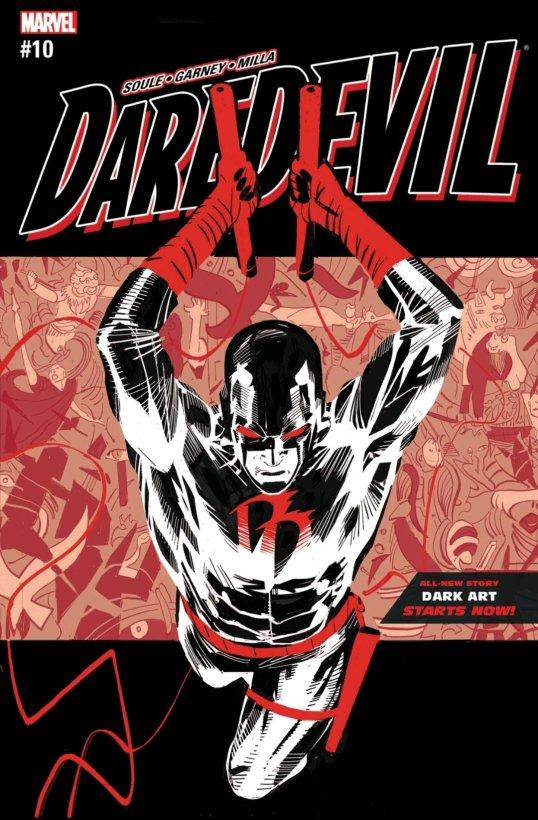 daredevil soule black white and red cover