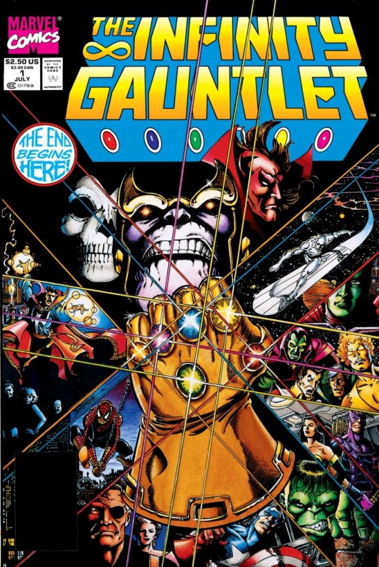 infinity gauntlet marvel comics