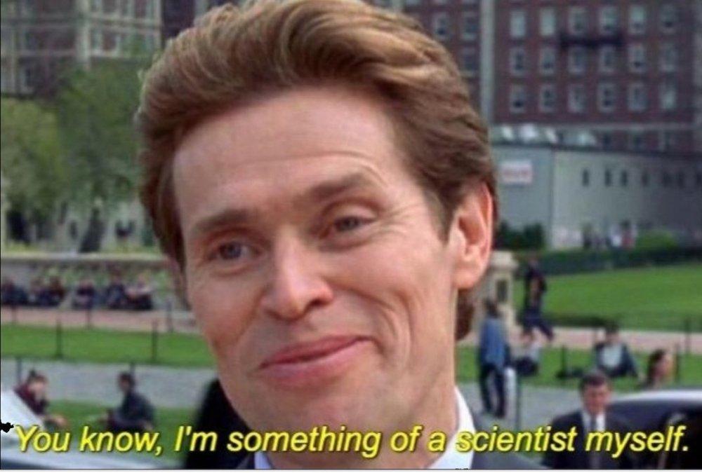 I'm something of scientist myself meme