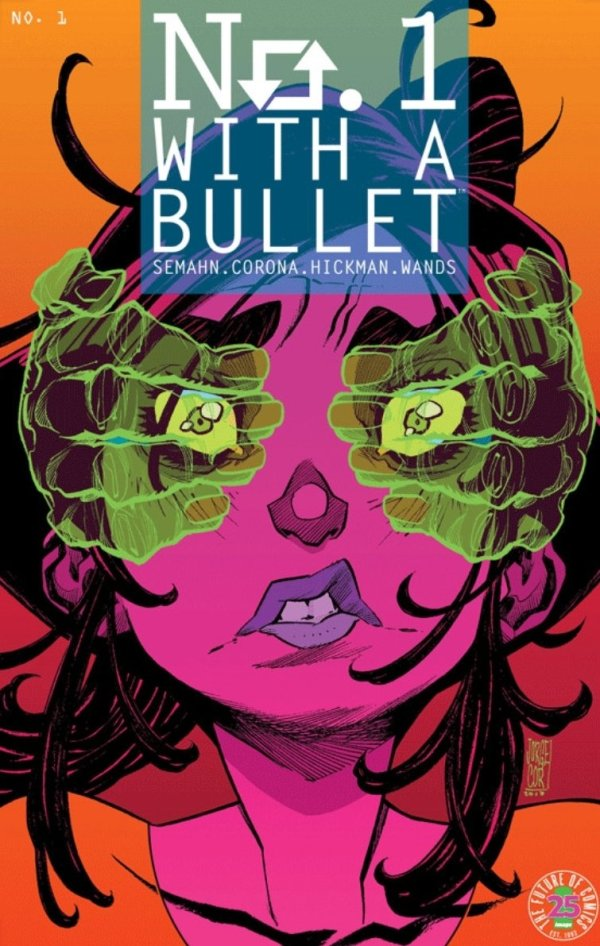 no 1 with a bullet graphic novel