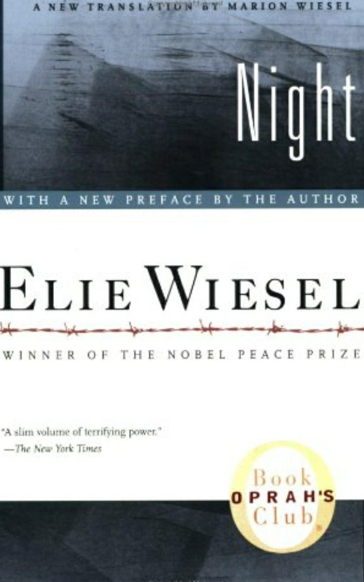 Night, book cover