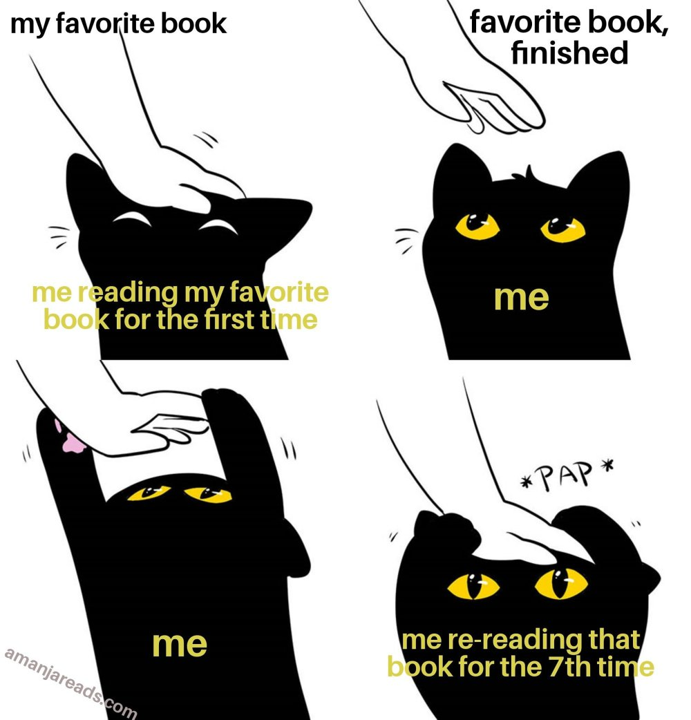 re-reading meme