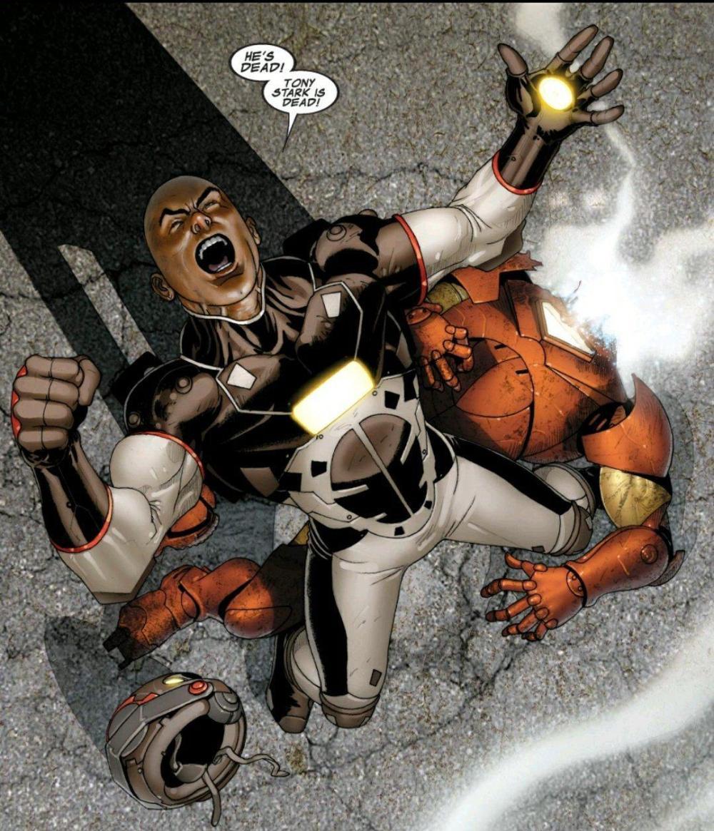 stane having killed iron man