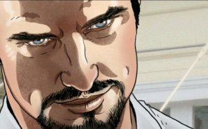 smarmy tony stark face, tony stark is a jerk