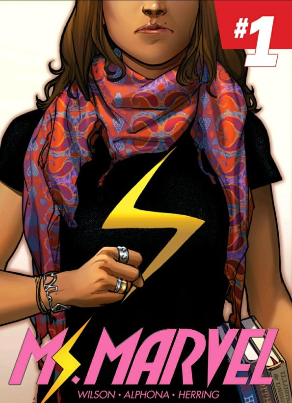 ms marvel comic book cover