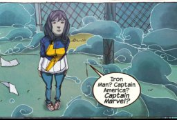 Kamala Khan in the Terrigen Mists
