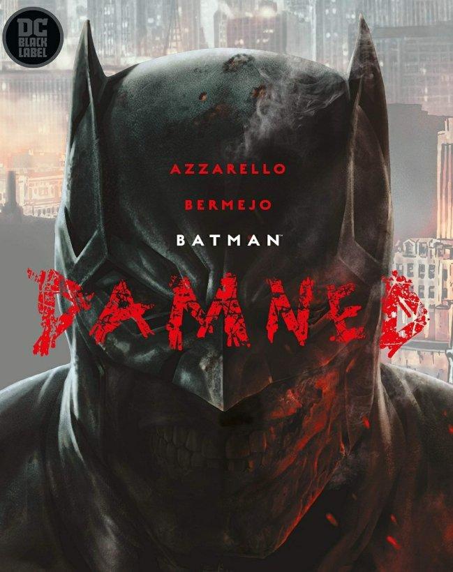 batman damned dc comics cover