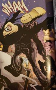 lady shiva knocking out batgirl, cassandra cain
