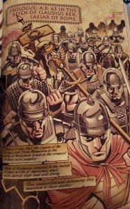 weird roman page from batgirl