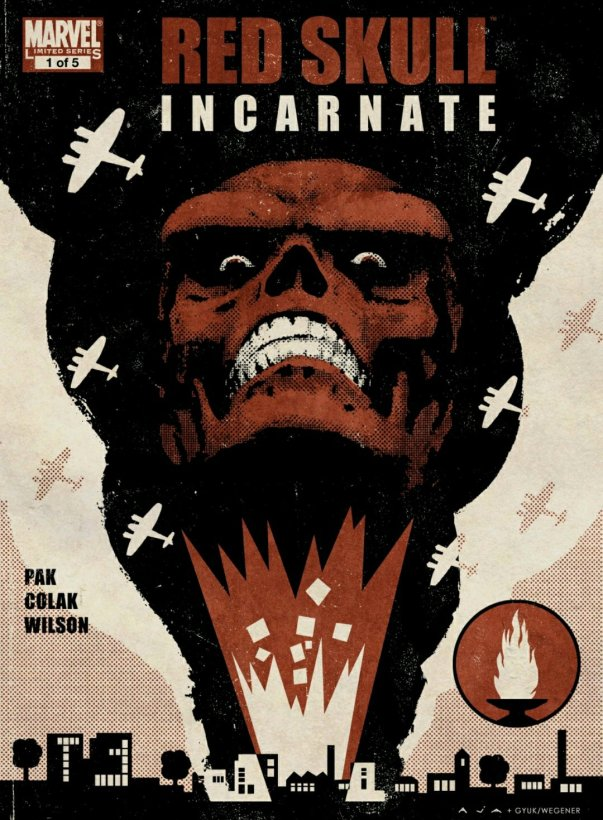 red skull incarnate marvel comics cover