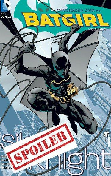cassandra cain batgirl summary and spoilers