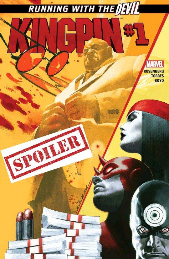 kingpin marvel comics summary and spoilers