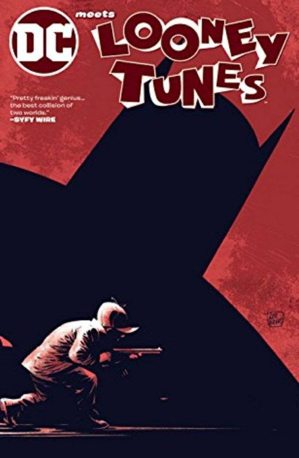 dc meets looney tunes comic book cover