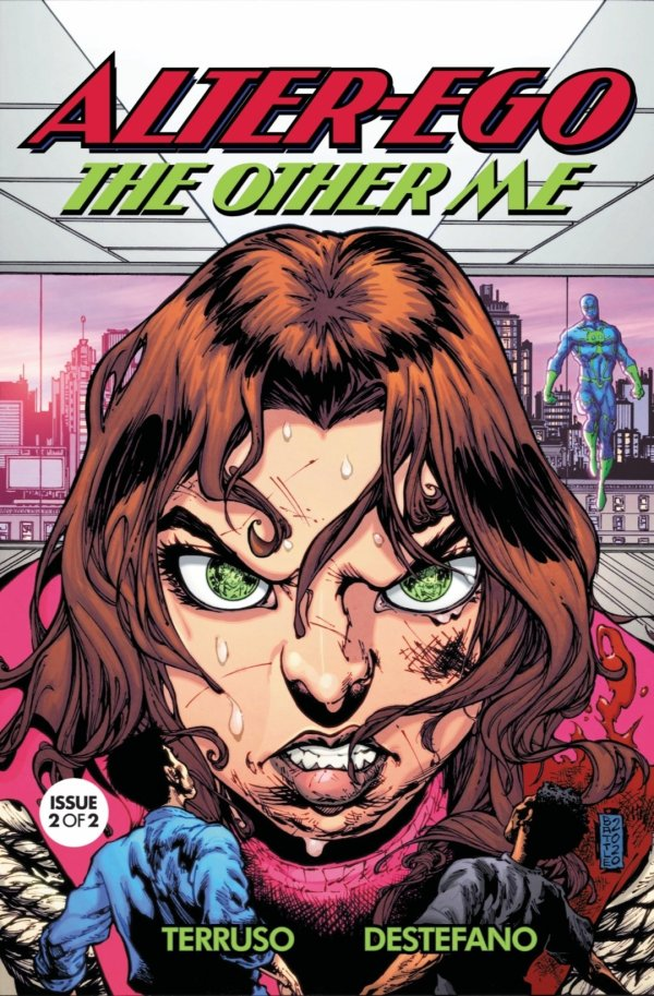 alter ego the other me issue two cover