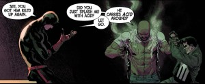 luke cage splashed with acid by the punisher