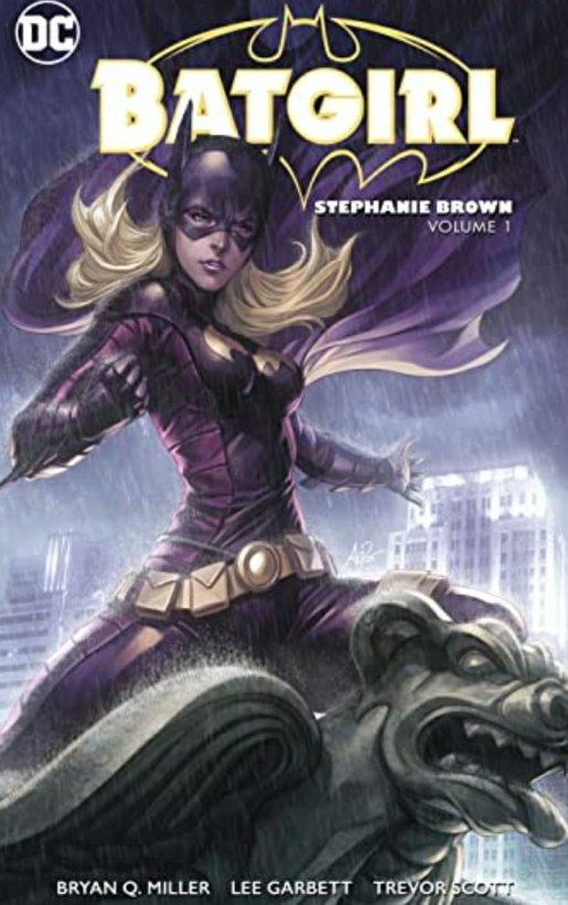 batgirl stephanie brown dc comics cover