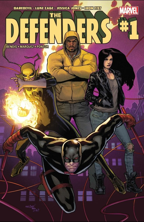 the defenders comic book cover