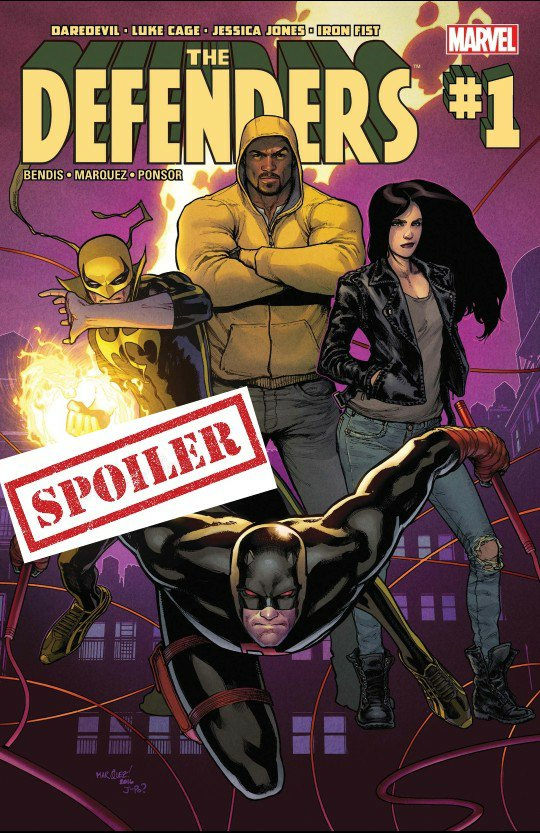 the defenders comic summary and spoilers
