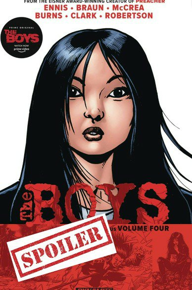 the boys graphic novel summary and spoilers