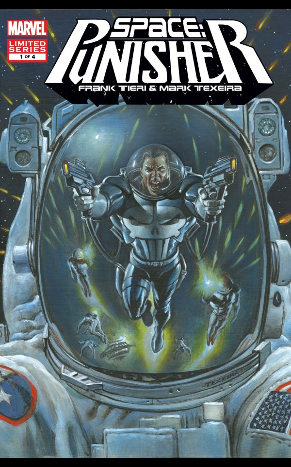 space: punisher marvel comics cover