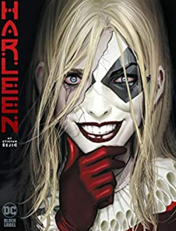 harleen dc comics cover