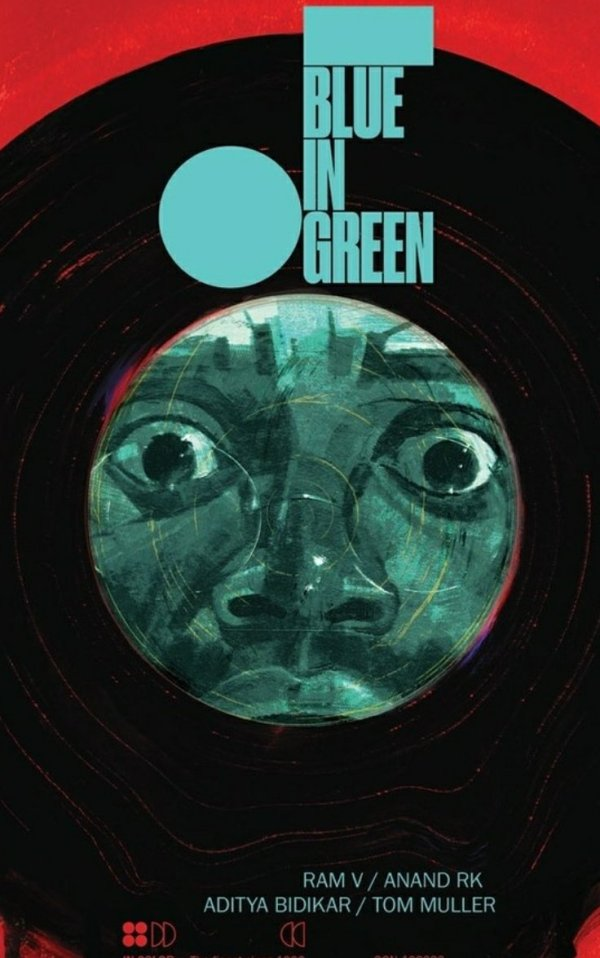 blue in green graphic novel