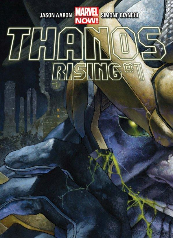 thanos rising marvel comics cover
