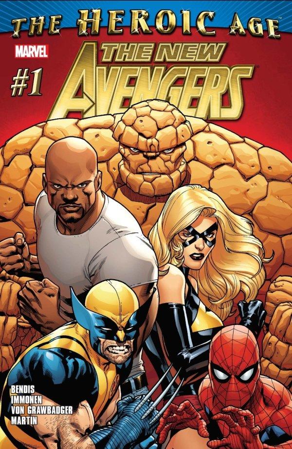 the new avengers heroic age marvel comics