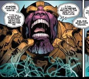 thanos whining about death