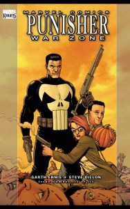 cover of punisher war zone featuring a pumpkin to have sex with