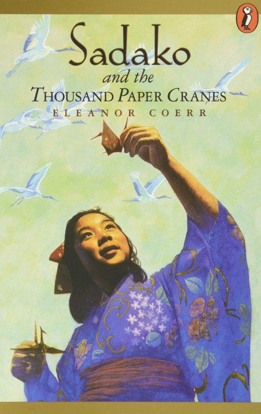sadako and the thousand paper cranes book cover